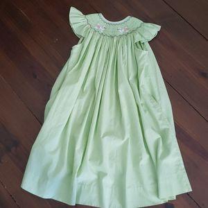 Wish Upon a Star Smocked Doggie Dress 6
